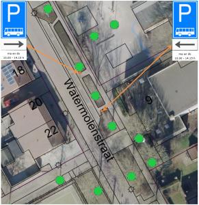 Bushalte schoolbus – aanpassing parkeervakken Watermolenstraat