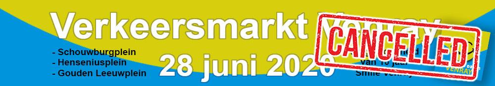 banner verkeersmarkt CANCELLED 2020